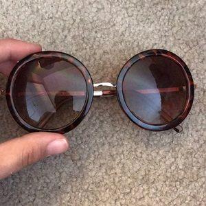 ALDO circle sunglasses